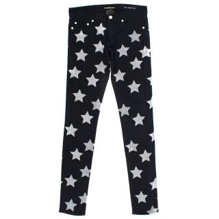Saint Laurent Black Stars Jeans