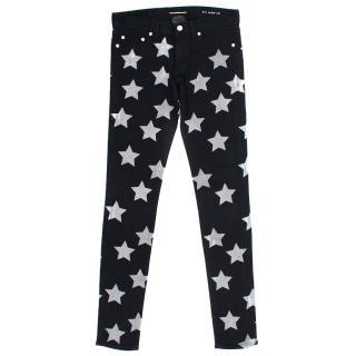 Saint Laurent Black Stars Jeans