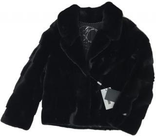 Blackglama Blazer Style Mink Fur Jacket.