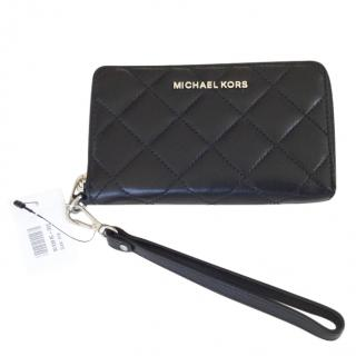 Michael Michael Kors quilted leather wallet