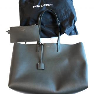 Saint Laurent army green Tote