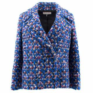 Emilio Pucci Blue Wool Jacket