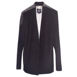 Gryphon New York Long Jacket With Embellishment