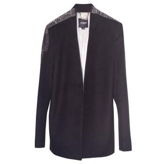 Gryphon New York Long Jacket With Embellishment