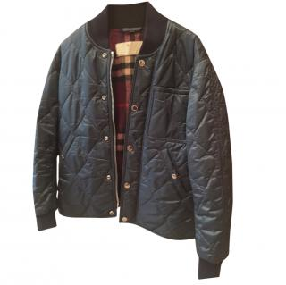 Burberry  Men's Quilted Bomber jacket