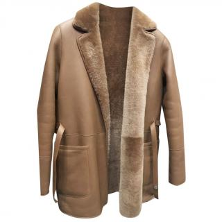 Loro Piana Reversible Shearling Coat