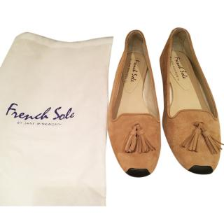 French Sole Moccasins