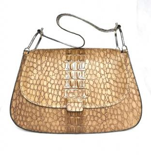 Pollini Beige Leather Bag