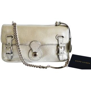 Ralph Lauren Collection Ricky ID Silver Metallic bag