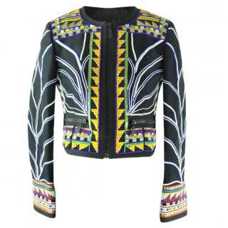 Emilio Pucci Embellished Bomber Jacket