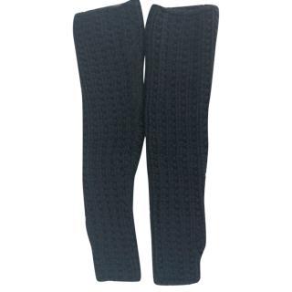 Dolce & gabbana cashmere long fingerless gloves
