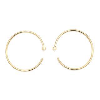 Jennifer Fisher Classic Gold hoops.