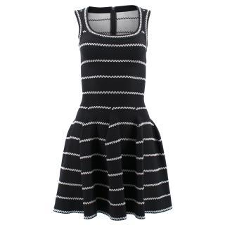 Alaia Paris, Black Flared dress