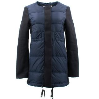 Marni Navy Puffer Coat