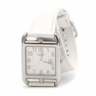 Hermes Cape Cod White Bracelet Watch