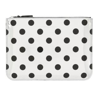 Comme des Gar�ons Optical Silver Wallet
