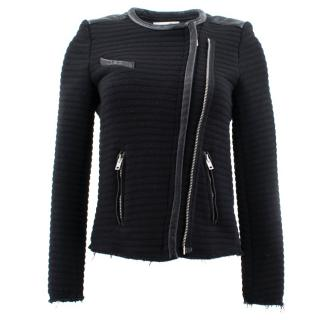 IRO Black Zip Jacket