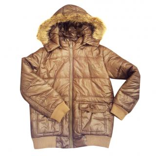 Burberry kid's padded puffer jacket