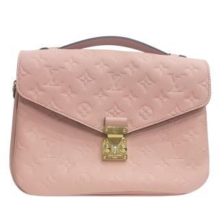Louis Vuitton Baby Pink LV Pochette Metis