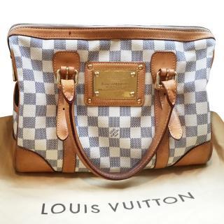 Louis Vuitton Damier Azur Berkeley Handbag
