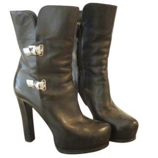 ermanno scervino hidden platform boots