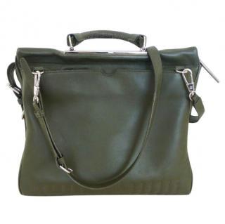 Phillip Lim olive zip bag