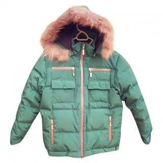 Dior kid's puffer jacket f