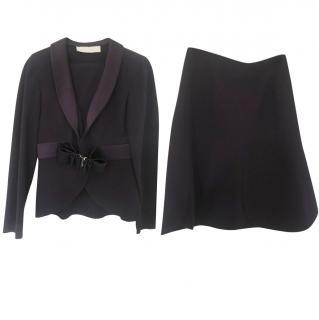 Valentino Lilac Skirt Suit