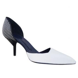 Vionnet white heels