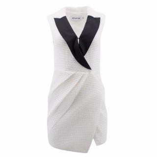 Self- portrait White Dress With Black Collars
