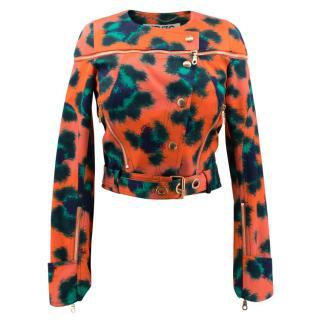 Kenzo Orange Pattern Jacket