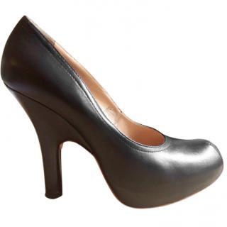 Vivienne Westwood leather high heeled pumps