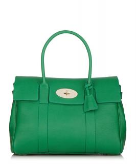 Mulberry Heritage Bayswater Jungle Green Small Classic Grain