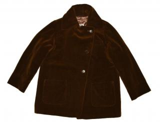 Jil Sander  Brown Wool Coat