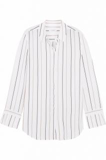 Equipment 'Holly' Striped Silk Shirt