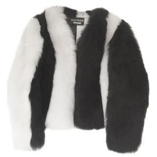 Boutique Moschino lambskin jacket