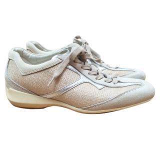Tod's beige trainers