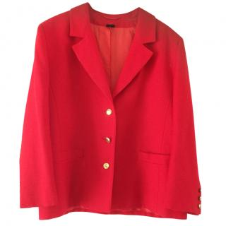 Gieves&Hawkes red blazer