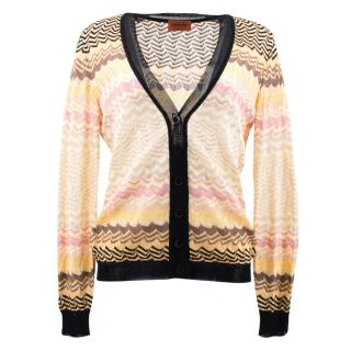 Missoni Multistriped Knit Cardi