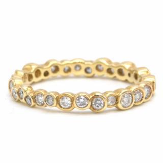 Ippolita Starlet 18K Gold Ring with Diamonds