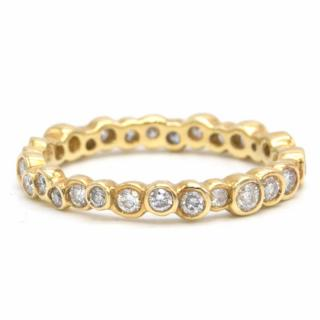 Ippolita Starlet 18K Gold Ring with Diamonds