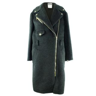 Moschino Virgin Wool/Mohair/Alpaca Coat