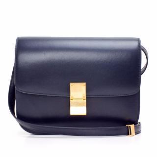Celine Classic Navy Box Bag