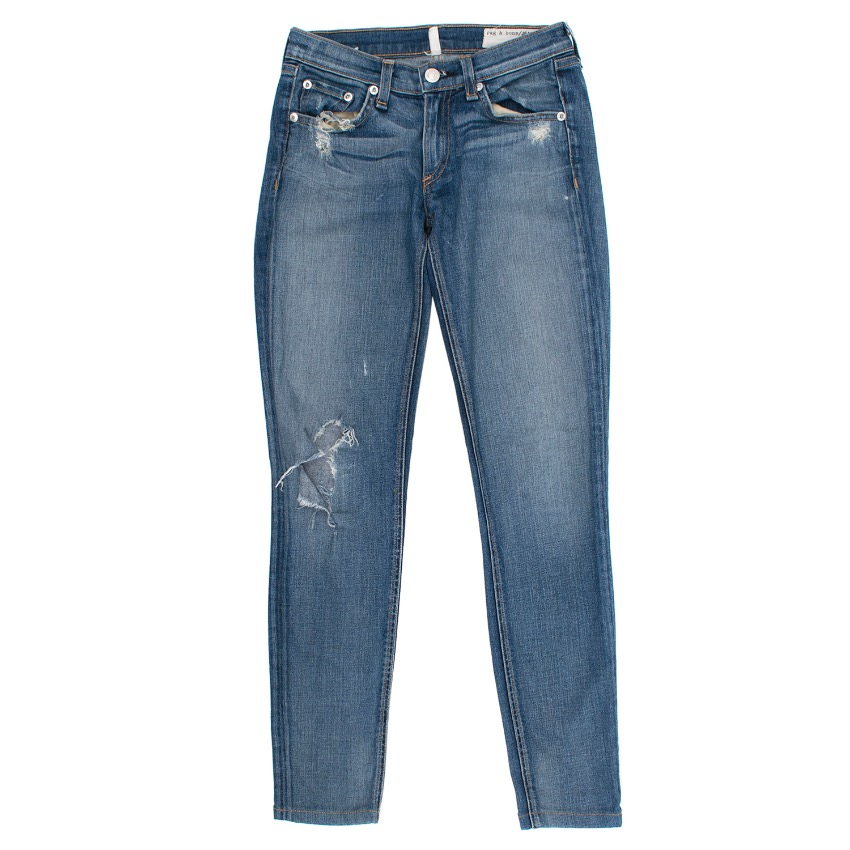 Rag & Bone Distressed Jeans