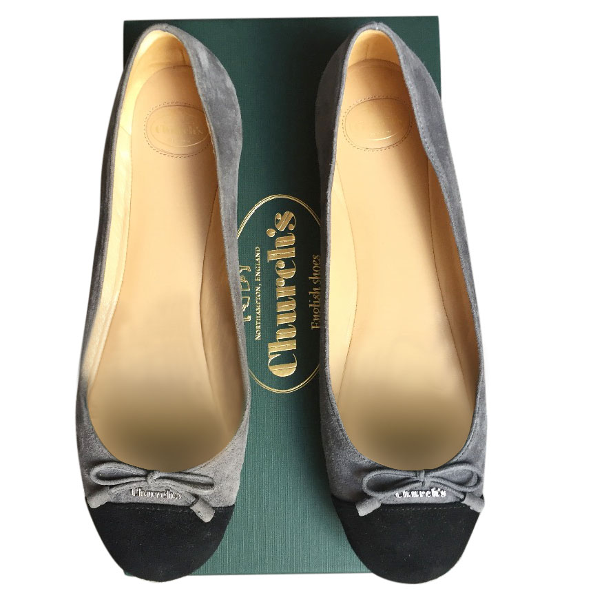 Church's Suede flats