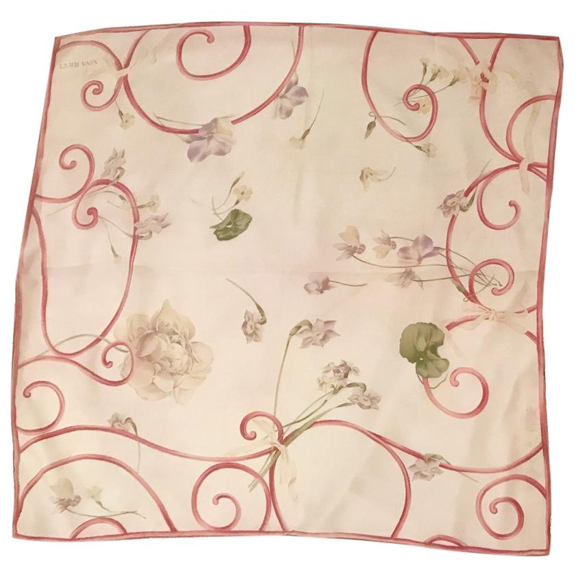 Nina Ricci 100% silk scarf