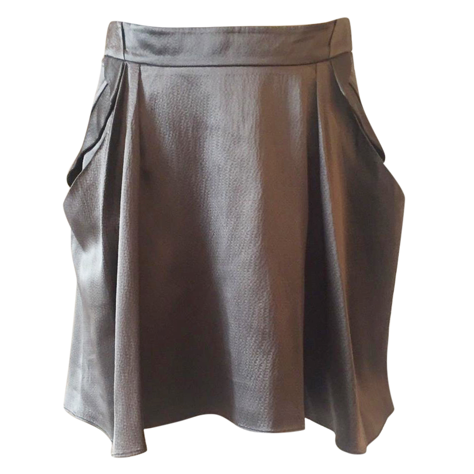 Vanessa Bruno tulip silk skirt