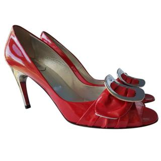 Roger vivier open-toe shoes 6