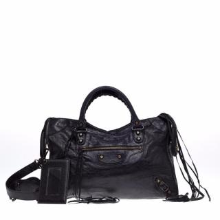 Balenciaga Classic Medium Black City Bag