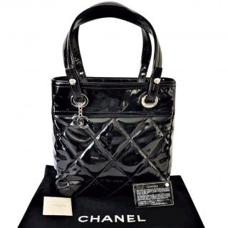 Chanel Biarritz Leather Tote Bag